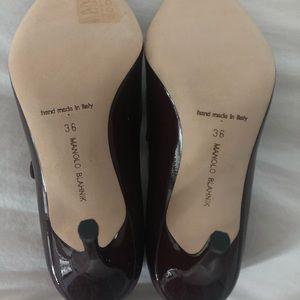 Manolo Blahnik Shoes - New Manolo Blahnik Campari Mary Jane